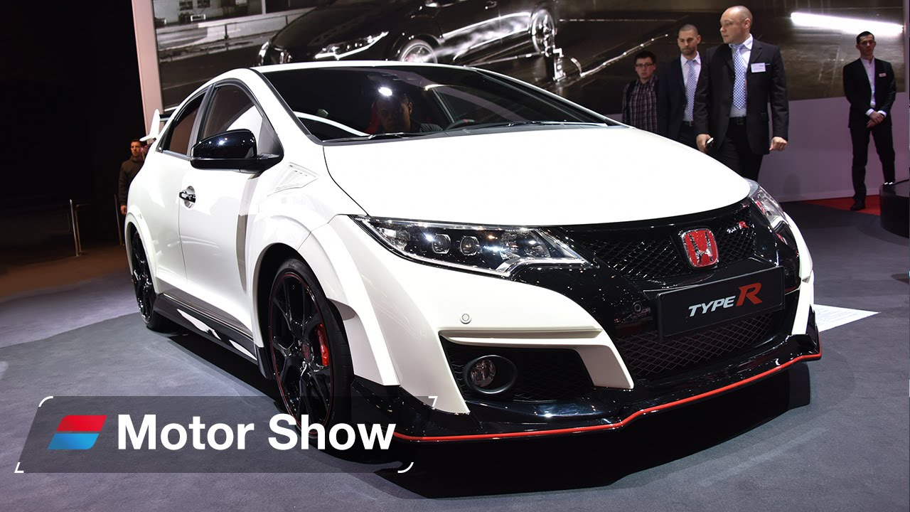 honda civic type r vs ford focus rs geneva motor show 2015 youtube. Black Bedroom Furniture Sets. Home Design Ideas
