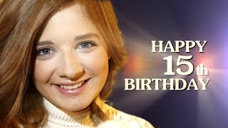Jackie Evancho - Happy 15th Birthday