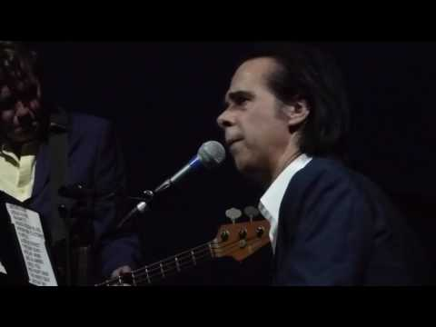 Nick Cave and The Bad Seeds: Into My Arms - Kings Theatre Brooklyn NYC US 2017-05-26 -front row 1080