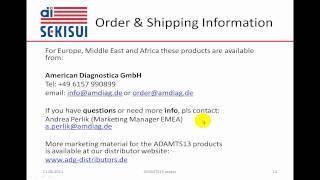 ADAMTS 13 Part 2: TTP Diagnostics, Products, Scientific References