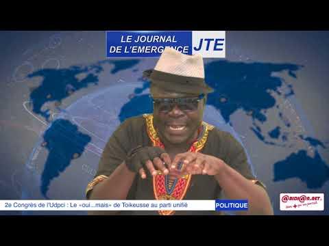 JTE : 2e congrès de l'UDPCI, fête de la liberté du FPI, Gbi de fer fait le grand déballage