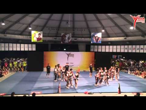 ACIC 2015 Cheer Open Coed Elite - MC One All Stars - Indonesian Cheer Association (Indonesia)