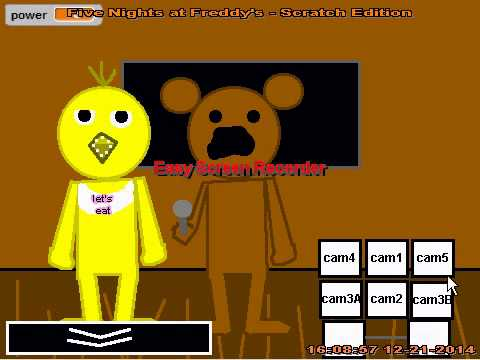 Five Nights At Freddy S 4 Real Game On Scratch ...