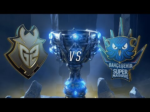 G2 vs. SUP | Play-In Groups | 2018 World Championship | G2 Esports vs. SuperMassive (2018)