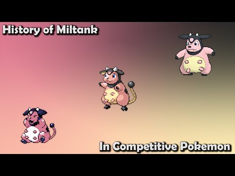 How GOOD Was Miltank ACTUALLY? - History Of Miltank In Competitive Pokemon Ft. PokeaimMD