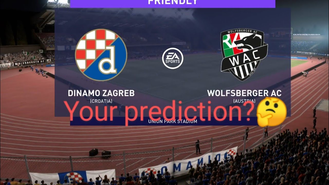 Fifa 21 D Zagreb Vs Wolfsberger Ac Europa League Group Stage My Prediction Highlights Youtube