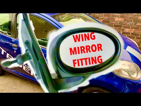 Citroen C1/Peugeot 107/Toyota Aygo Wing Mirror Replacement How To