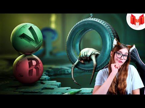 Half-Life Alyx - Дрессировка Хедкраба (VR) МАРМОК РЕАКЦИЯ