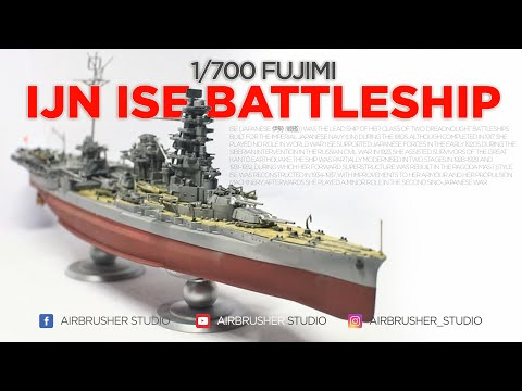 1/700 IJN ISE from Fujimi