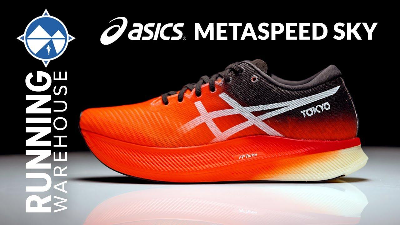 ASICS MetaSpeed Sky In-Depth Shoe Breakdown   New Foam Carbon Plate = Top Plated Racer?