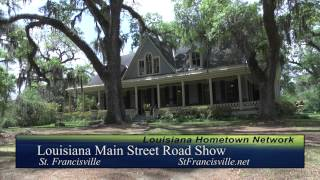St. Francisville - Louisiana Main Street Road Show