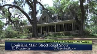 St. Francisville - Louisiana Main Street Road Show