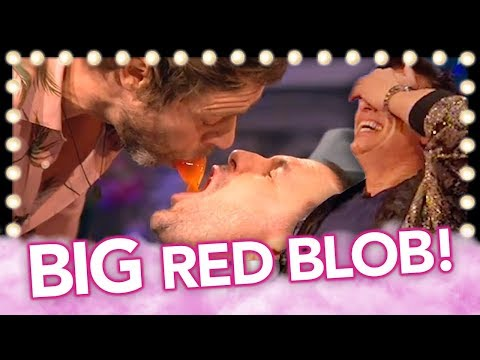 """Hilarious Moment Take That's Howard Donald Drops The """"BIG Red Blob""""! 
