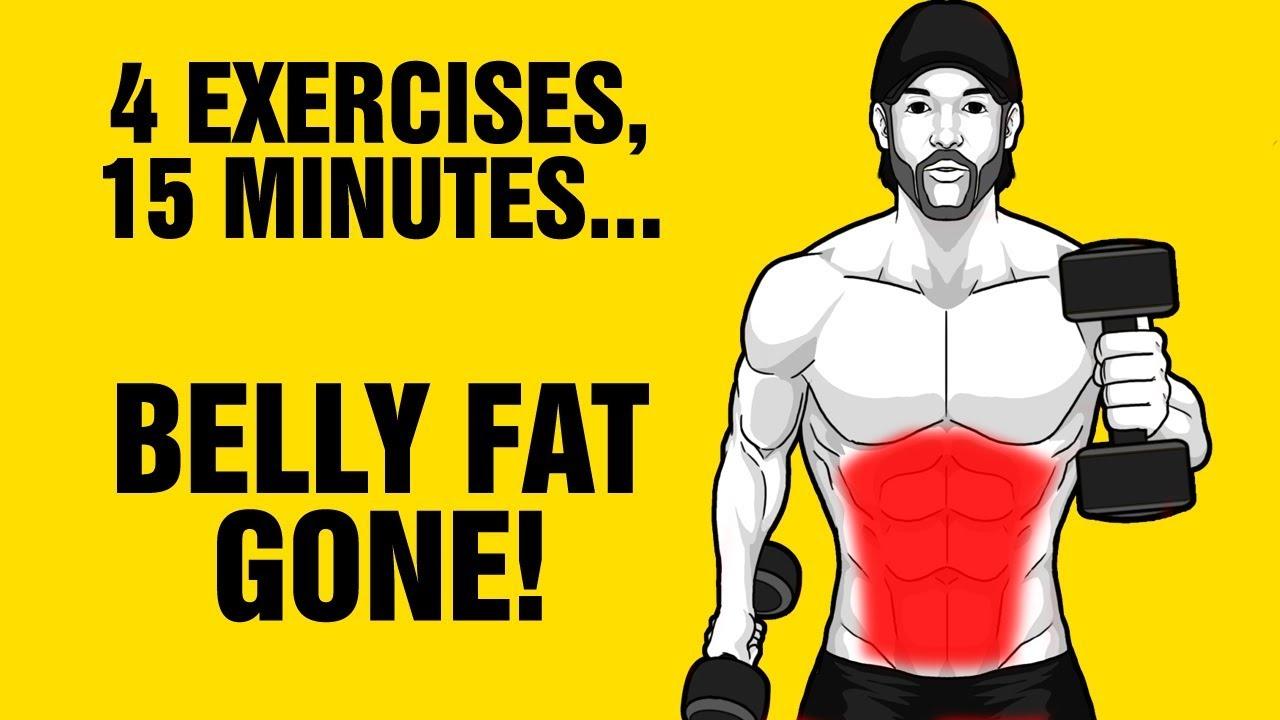Burn belly fat in 15 min