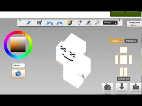 Como Hacer La Skin De Marshmello YouTube - Skin para minecraft pe de marshmello