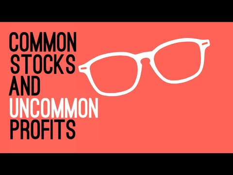 Common Stocks And Uncommon Profits By Phil Fisher - Animated