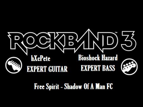 Free Spirit - Shadow Of A Man Expert Guitar & Bass 100% FC