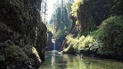 The Waterfalls of Columbia River Gorge, Oregon, USA in 4K (Ultra HD)