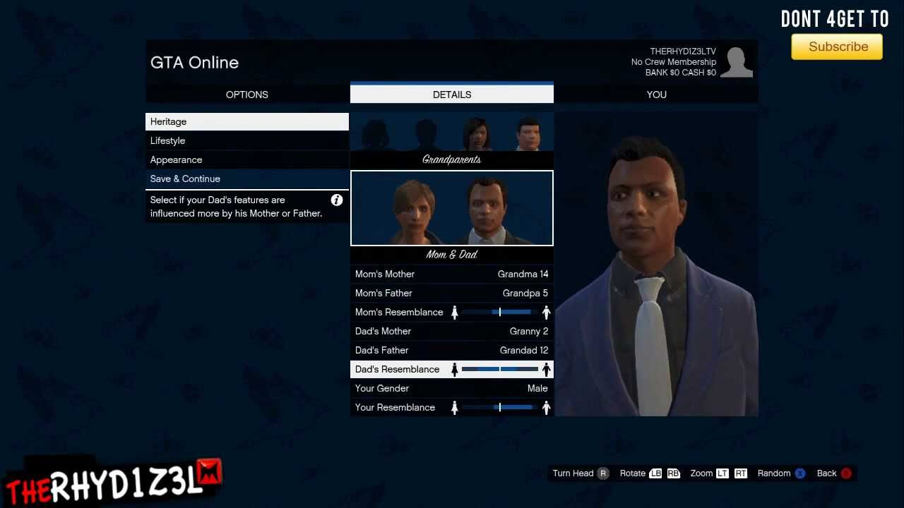 how to make your gta character look like floyd
