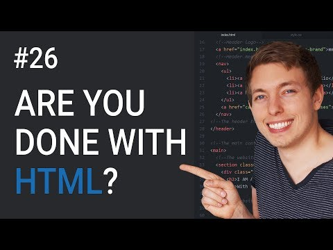 26: Are You Done Learning HTML & CSS? | Learn HTML And CSS | HTML Tutorial | CSS Tutorial