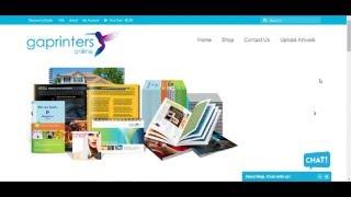 Comment créer un nouveau compte en gaprinters.com.au