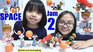 McDonald's Happy Meal Toys SPACE JAM 2. Space Jam A New Legacy Toys. Lebron James! NBA Basketball