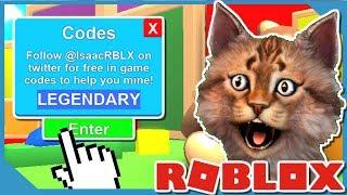 4 New Legendary Roblox Mining Simulator Codes