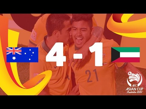 Australia vs Kuwait: AFC Asian Cup 2015 (Match 1)