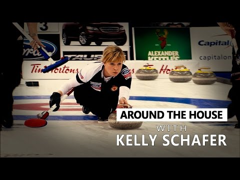 Around the House - About Olympian Kelly Schafer