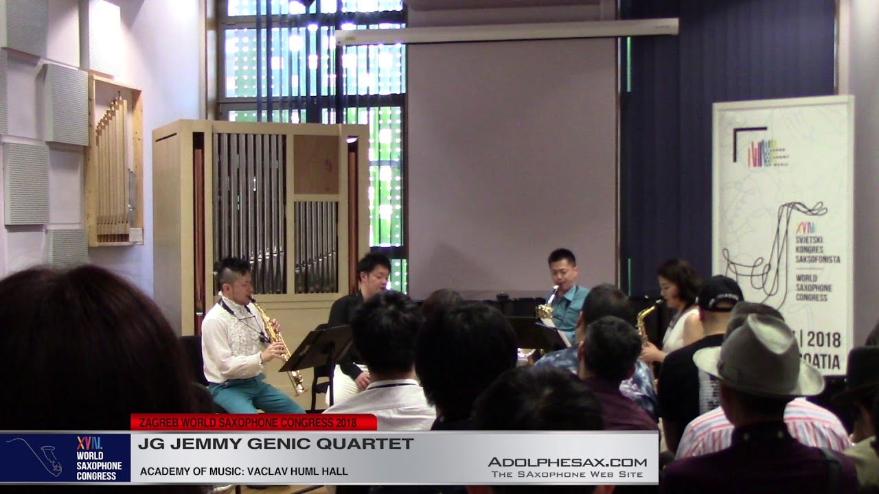 Earth by Takatsugu Muramatsu    JG Jemmy Genic Quartet   XVIII World Sax Congress 2018 #adolphesax