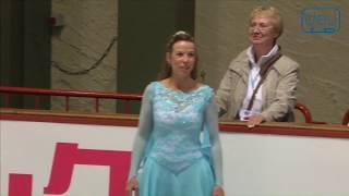 Simone GERTHS. Oberstdorf 2018. Silver Ladies IV - Free Skating. 4 place