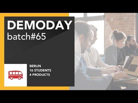 Le Wagon DemoDay - Batch #65 - Berlin
