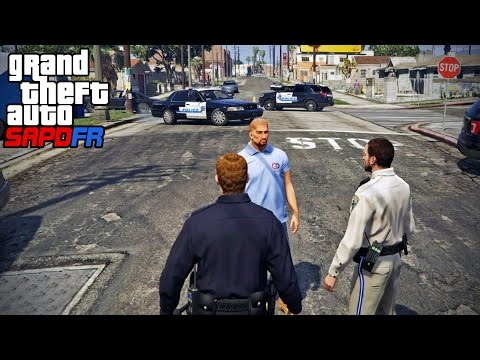 GTA SAPDFR - DOJ 6 - Lying To The Police...