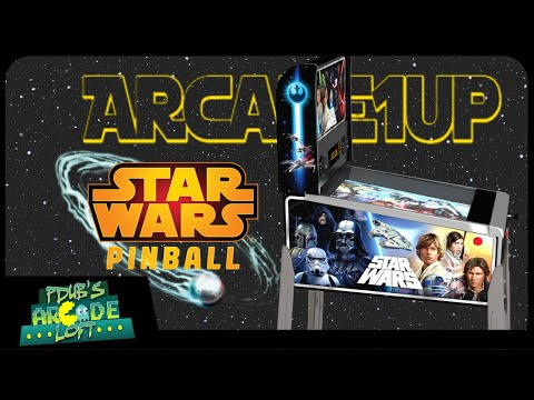 Arcade1Up Star Wars Pinball Machine Pre-Orders are now LIVE! from PDubs Arcade Loft