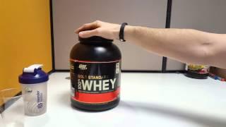 Протеин ON Gold Standard Whey. Плюсы и минусы