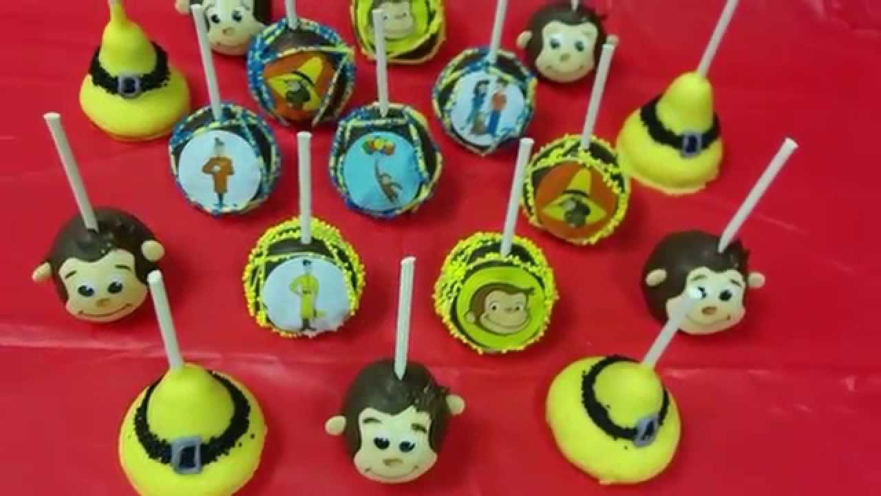 How To Make Curious George Cake Pops