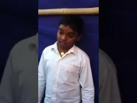 Junior ANAND Shinde........ambedkar song......!