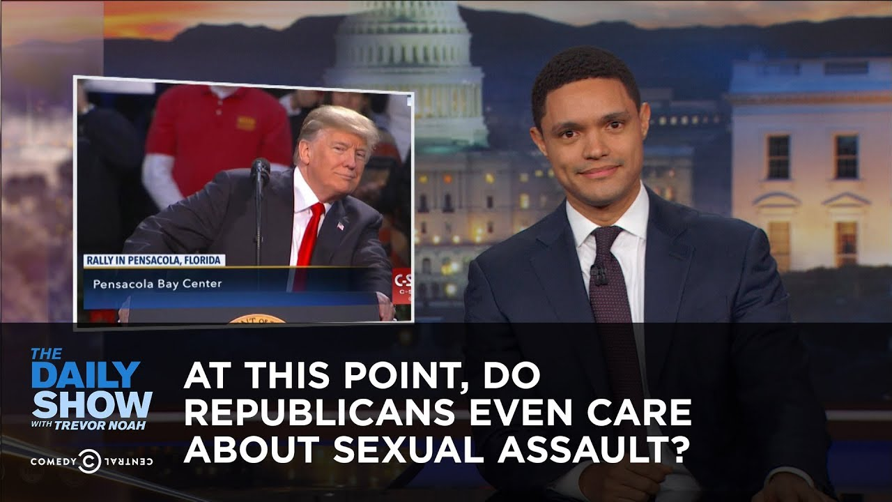 At This Point Do Republicans Even Care About Sexual Assault The Daily Show