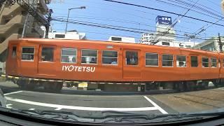 鉄道ファン必見! ゴールデンクロス(踏切)→JR松山駅→松山空港