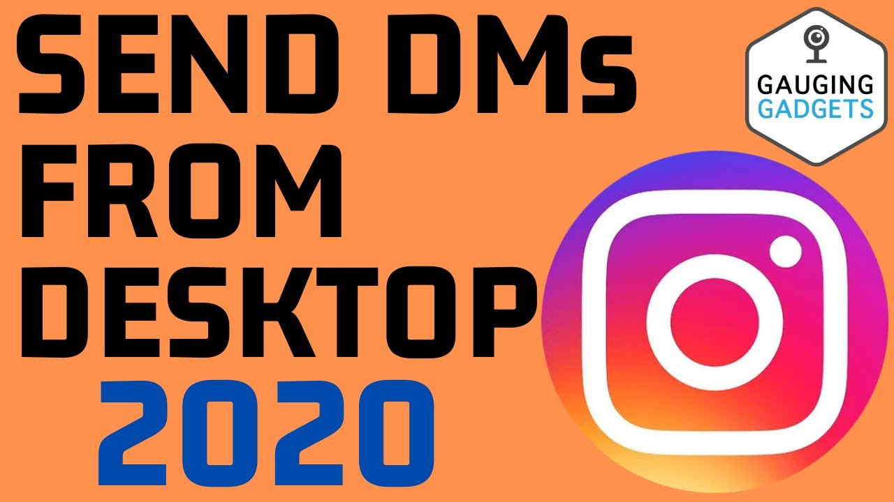 How To Direct Message On Instagram From Laptop Chromebook Or Desktop Pc Youtube