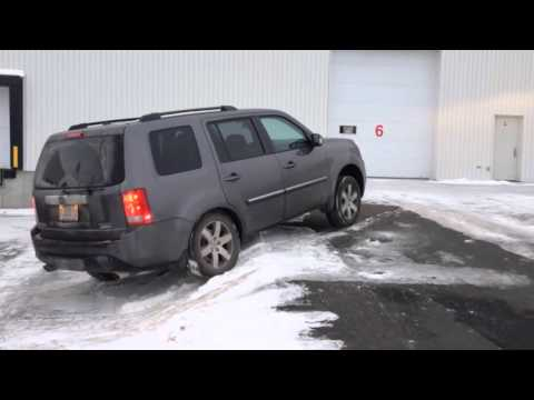 Honda Pilot 2014 4wd Vtm 4 Lock Diagonnal Test In Snow