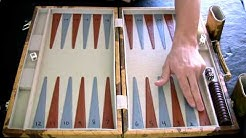Beginner Backgammon Tutorial - 1 - Setting up the Board