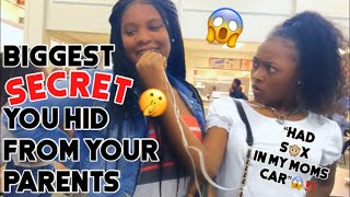 SOMETHING YOU NEVER TOLD YOUR PARENTS🥵😱🤫‼️PUBLIC INTERVIEW|DAYLAWEBSTER