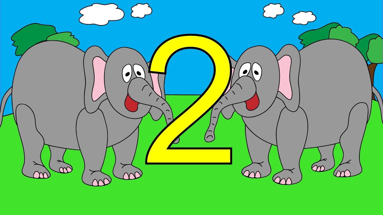 counting elephants 1 to 10 learn to count elephant numbers 1 to