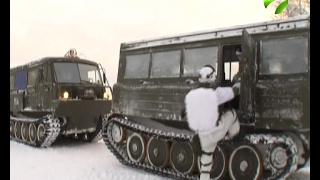 В Арктике начались испытания новой военной техники