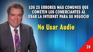 Error 20 - No Usar Audio
