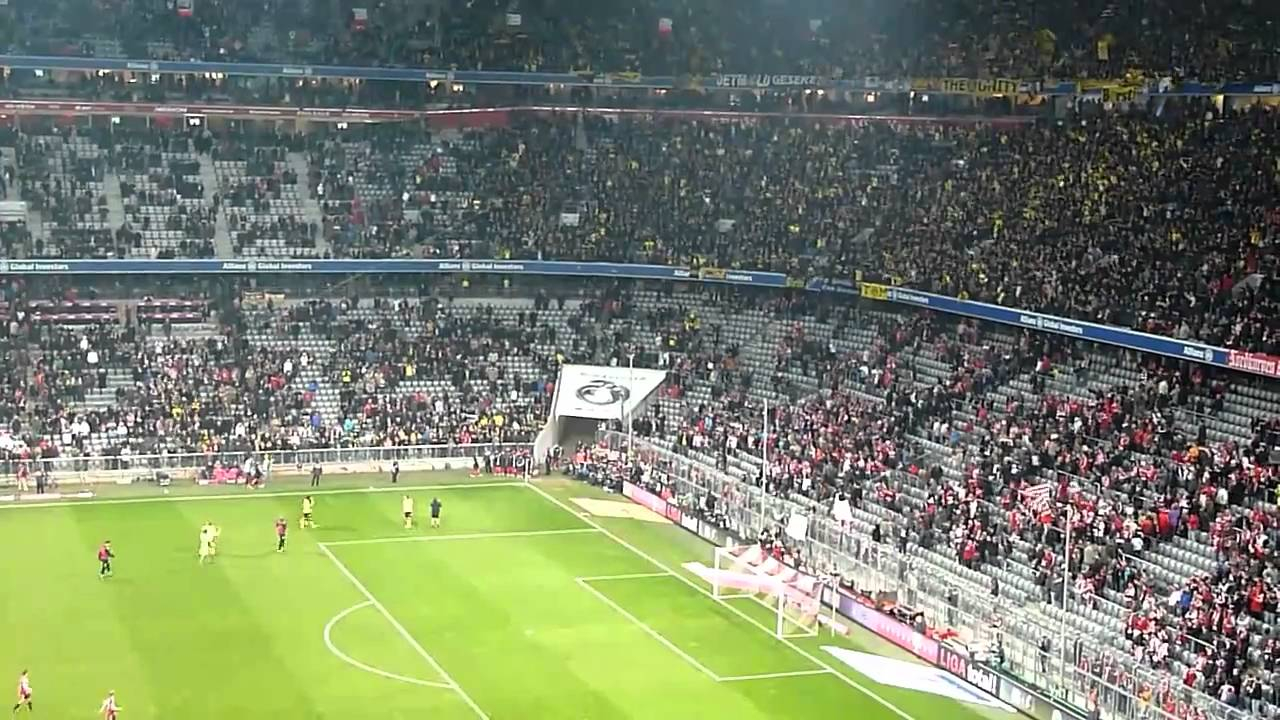 Borussia Dortmund - Bayern München 26.02.2011 Stimmung