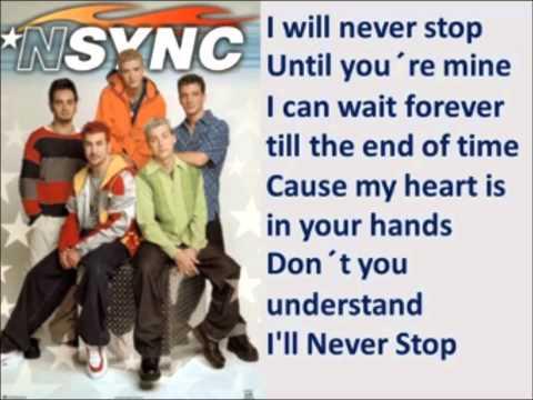 NSYNC - I´ll never stop - karaoke