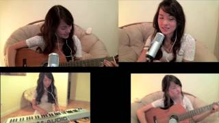 Sanctuary (Utada Hikaru | Kingdom Hearts 2) Acoustic Guitar, Piano, Vocal Cover | michelleheafy