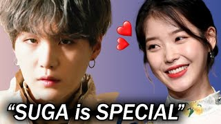 Why is BTS SUGA Loved by Female Artists? 2 Secret Points in his Collaboration!